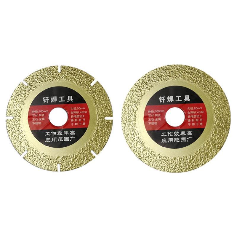 Diamond Grinding Wheel Saw Blade Multi-purpose Circular Cutting Disc Rotary Abrasive Tools For Granite Marble Tile Ceramic