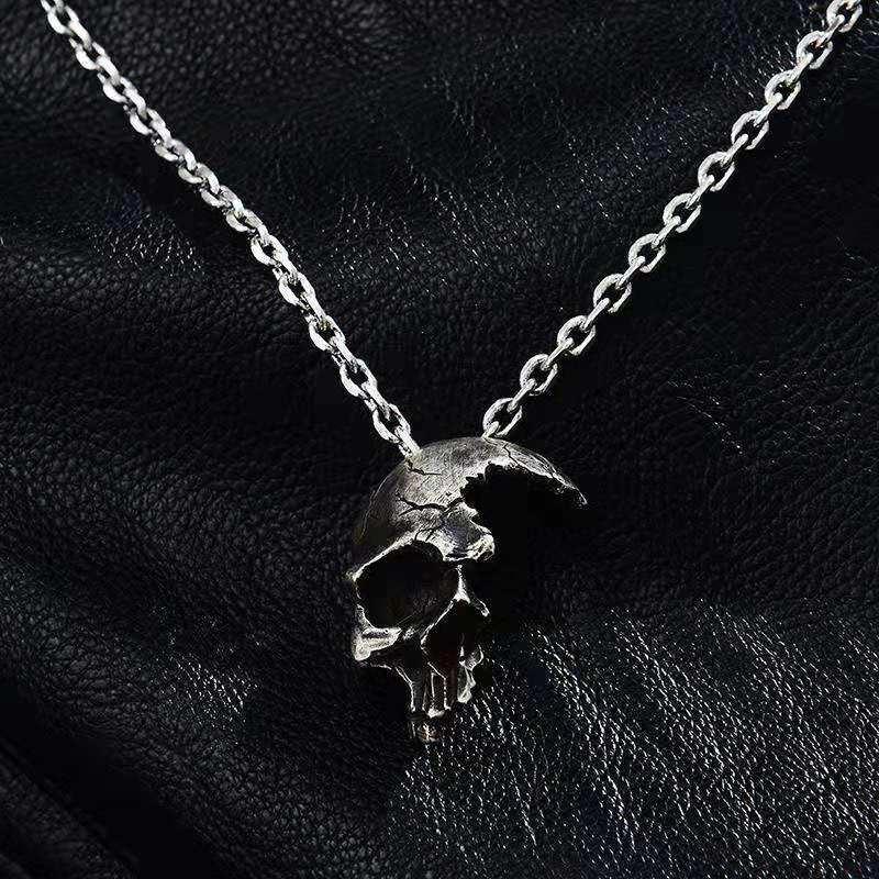 skull necklace pendant (2)