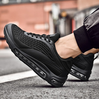 2019 Autumn Men Casual Shoes Breathable Air Cushion Shoes Fashion Men Walking Sneakers Plus Size 47 Tenis Masculino Basket Homme