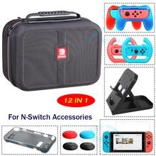 Voor Nintend Schakelaar Accessoires Grote Opslag Handtas & Beschermende Tpu Case Cover & Vouwen Stand Voor Nintendo Switch Game console
