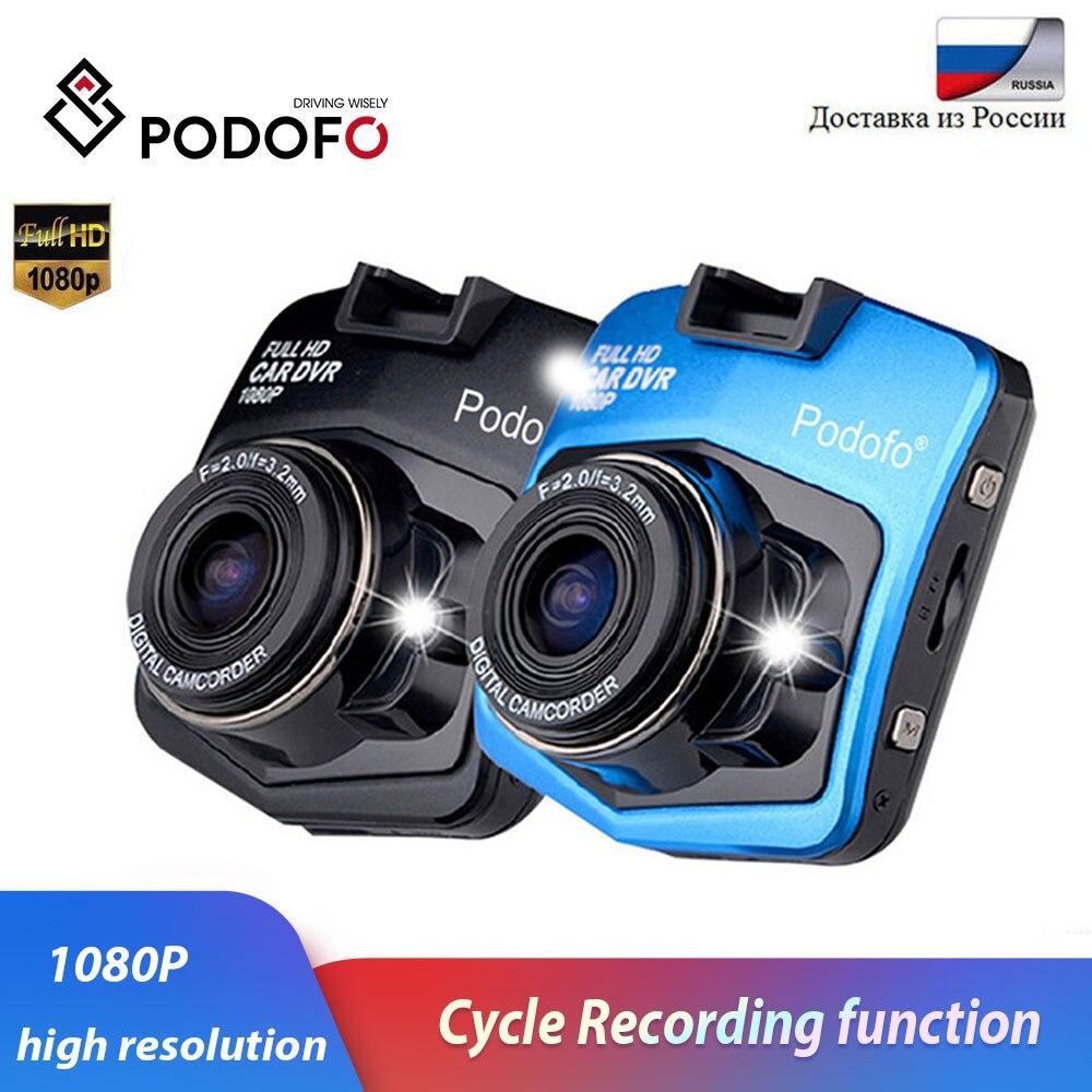 Podofo Car DVR Dash-Cam Carcam Dvrs-Recorder Video-Registrator-Box Vehicle Night-Vision