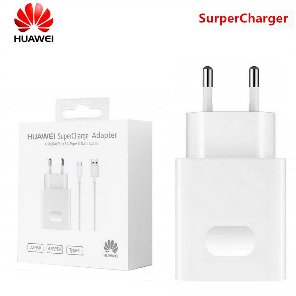 20 Huawei Original Fast Charger Mate 20 Pro P20 Mate 9 10 Supercharge Quick Travel Wall Adapter 4.5v5a/5v4.5a Type-c 3.0 Usb Cable (1)