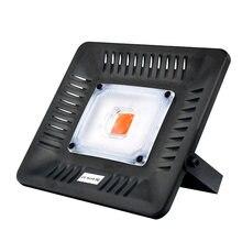 Черный полный спектр 110 В светодиодный светильник для выращивания