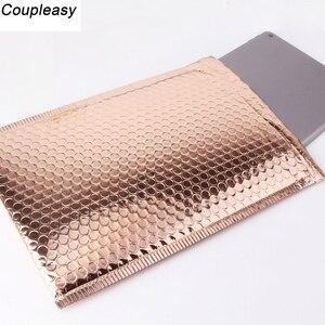 Image 5 - Saco de embalagem envelopes envelopes acolchoados, 30 peças 4 tamanhos, bolhas, sacos de plástico, embalagem postal, envelope