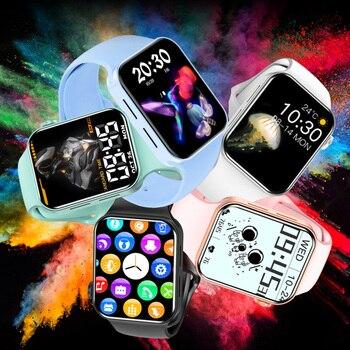 CHYCET IWO Watch 7 Smartwatch Smart Watch Men Women DIY Face Fitness Tracker Watch For Xiaomi Huawei PK DT100 IWO 13 Pro 2021 6