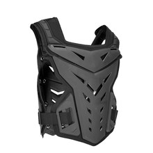 1 Pcs Motorcycle Protective Jacket Sport Motocross MTB Racing Body Protector Motorcycle Protective Vest Armour Black(China)