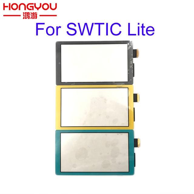 원래 LCD 디스플레이 터치 스크린 닌텐도 스위치 라이트 터치 스크린 디지타이저 스위치 NS 커버 패널 게임 콘솔