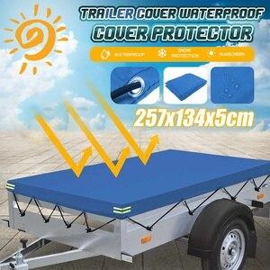 2575x1345x50 мм уличная Защита от солнца и УФ-лучей, защита от снега, защита от пыли, водонепроницаемый тент для кемпинга, поля, палатки, Крышка для ...