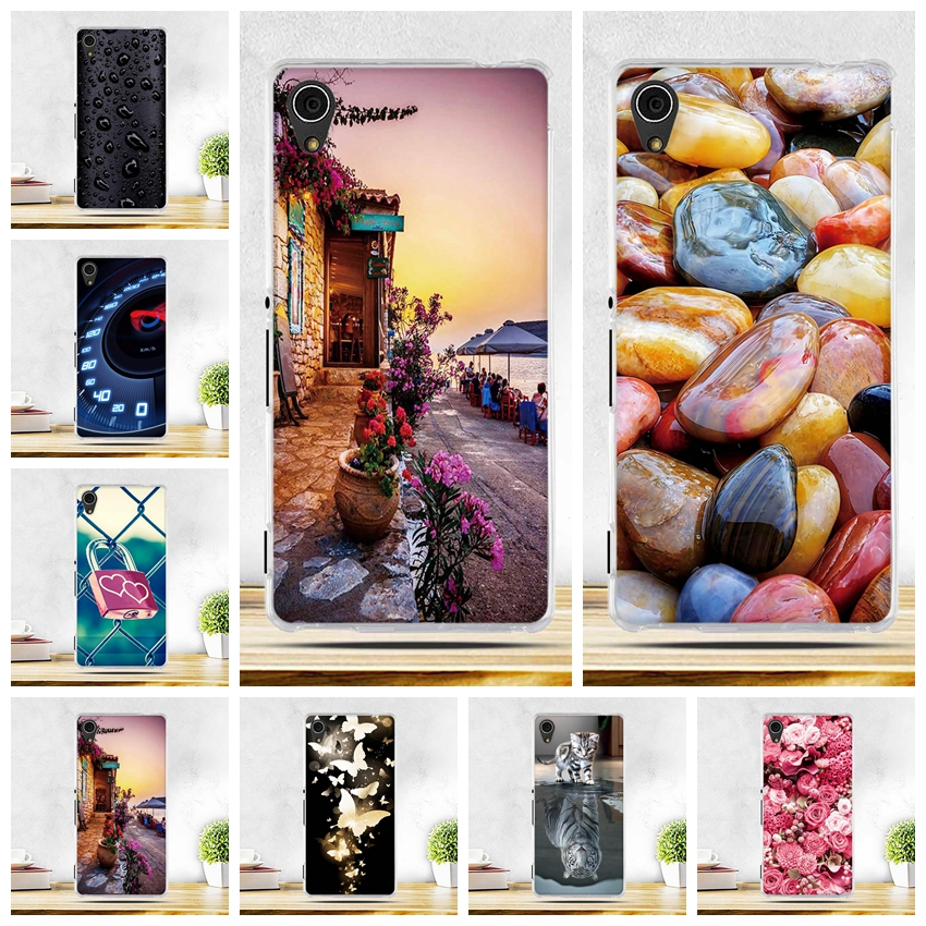 Case For Coque Sony Xperia M4 Aqua Case Soft Silicone Back Cover for Sony Xperia M4 Aqua Dual E2303 E2333 E2353 5.0