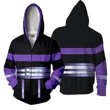 Japan Game Fire Emblem: Awakening Hoodies Sweatshirts Cosplay Costumes Printing Jacket Long-sleeved Zipper Mens