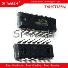 10 ชิ้น/ล็อต 74HCT125N SN74HCT125N 74HCT125 DIP 14 Goodquality