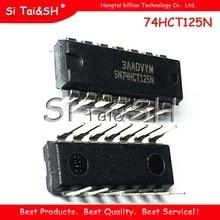 10 قطعة/الوحدة 74HCT125N SN74HCT125N 74HCT125 DIP 14 goodquality