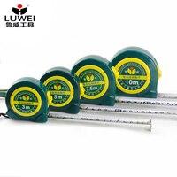 3m/ 5m/ 7.5m/ 10m ölçüm rulet bant çift taraflı çelik mezura esnek kural tapeline geri çekilebilir ölçüm araçları