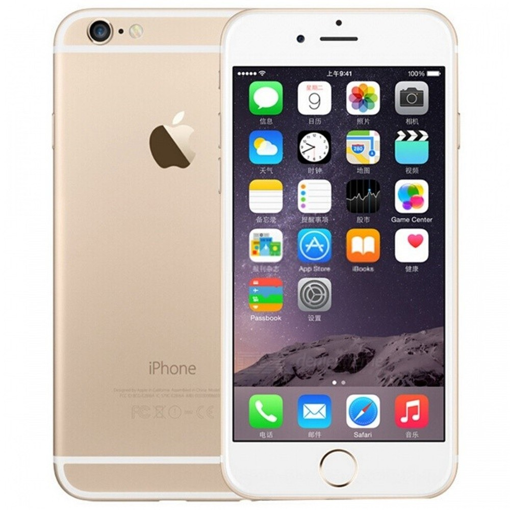 Refurbished Apple IPHONE 6 PLUS <font><b>Smartphone</b></font> 16GB / <font><b>64GB</b></font> / 128GB ROM 5.5 Screen Mobile WIFI GPS 4G LTE Smart Phone iphone 6 Plus image