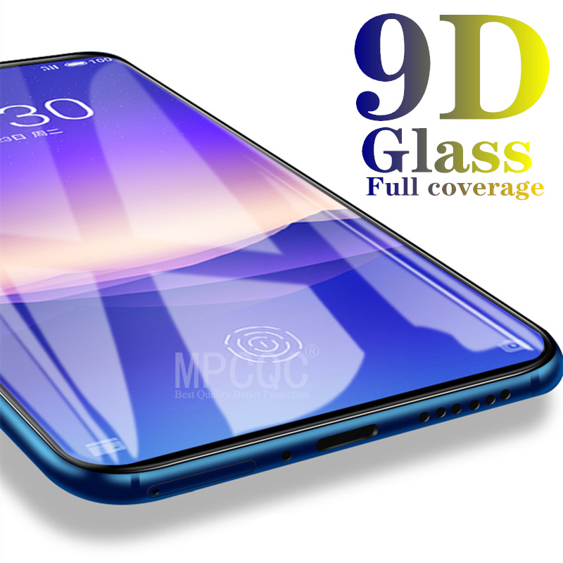 9D Curved Tempered Glass on the For Samsung Galaxy A30 A50 A10 A20e Screen Protector For