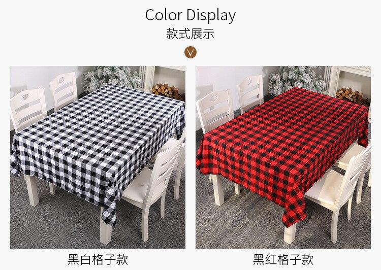 213*153 cm clássico vermelho preto branco xadrez