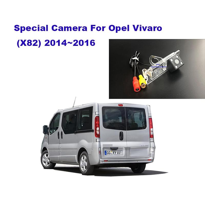 Yessun Rear Camera Car Rear View Camera HD Night Vision Reverse Camera IP67 DC 12V For Opel Vivaro X82 2014~2016
