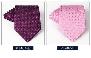Классический синий черный красный галстук мужской деловой галстук для свадьбы галстук 8 см Полосатый клетчатый галстук модные аксессуары д...