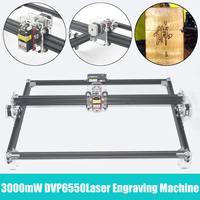 50*65cm DVP6550 7000/6000/3000MW Blue CNC Laser Engraving Machine 2Axis DC 12V DIY Engraver Desktop Wood Router/Cutter/Printer