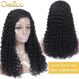 Парик с крупными волнами предварительно сорвал полный кружева человеческих волос парики перуанские прямые волосы полные парики шнурка чел...