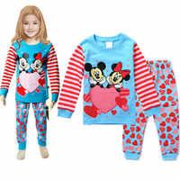 Filles vêtements ensembles 2019 été dessin animé Minnie bébé filles coton T-shirt et Shorts costume enfants bambin vêtements décontractés ensemble