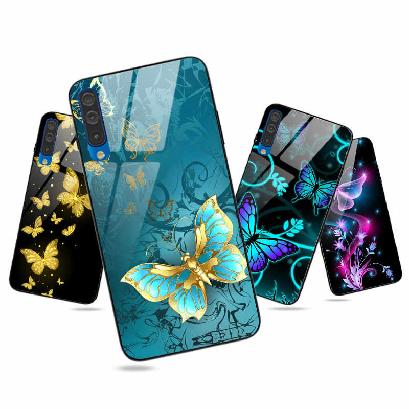 Glossy Für Samsung Galaxy A10 A20 A30 A40 A50 A70 A51 A71 A10S A20S A30S A50S A21S Fall Helle Abdeckung