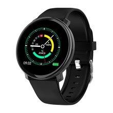 Relógio inteligente m31 sn completo imprensa ip67 à prova dip67 água múltipla modo de esportes diy relógio inteligente rosto para android & ios