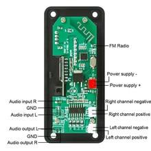 2*25W amplifier  bluetooth module 12V  50W amplifier Car FM Radio Module Support  TF USB AUX  bluetooth speaker module