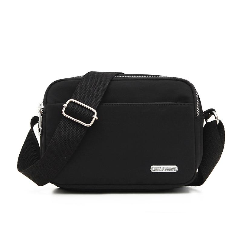 Women Nylon Shoulder Bags Crossbody Bag Ladies Top-handle Bolsa Feminina Satchel Handbag Pouch Tote Pocket