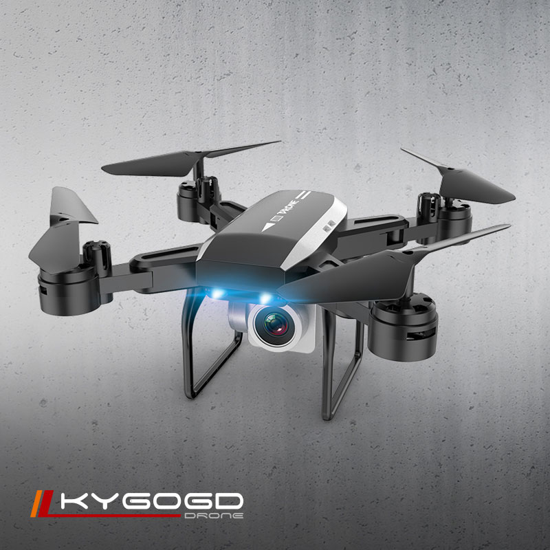 KY606D RC 4K HD Camera Drone With Optical Flow Positioning and Altitude Hold 4