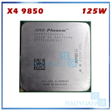AMD Phenom X4 9850 HD9850XAJ4BGH 125W Quad-Core ordenador de sobremesa 2,5 GHz CPU Socket AM2 +/940pin