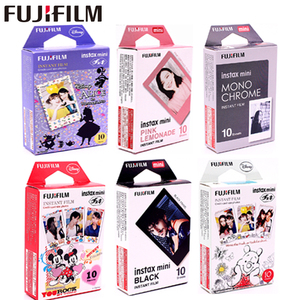 10 Sheets Fuji Fujifilm instax mini 9 films 3 Inch film for Instant Camera mini 8 9 7s 25 50s 90 Frozen Pokemon Photo paper