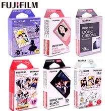 10 ورقة فوجي فوجي فيلم instax mini 9 أفلام 3 بوصة فيلم للكاميرا الفورية mini 8 9 7s 25 50s 90 المجمدة بوكيمون ورق طباعة الصور
