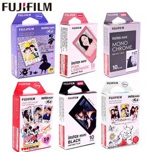 Image 1 - 10 yaprak Fuji Fujifilm instax mini 9 filmler 3 inç film anında kamera mini 8 9 7s 25 50s 90 dondurulmuş Pokemon fotoğraf kağıdı
