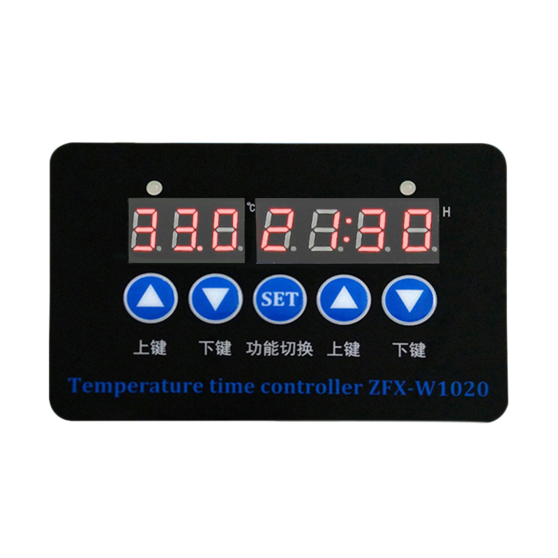 ZFX-W1020 24V Microcomputer Digital Display Temperature Controller Thermostat Intelligent Time Controller Adjustable Electronic