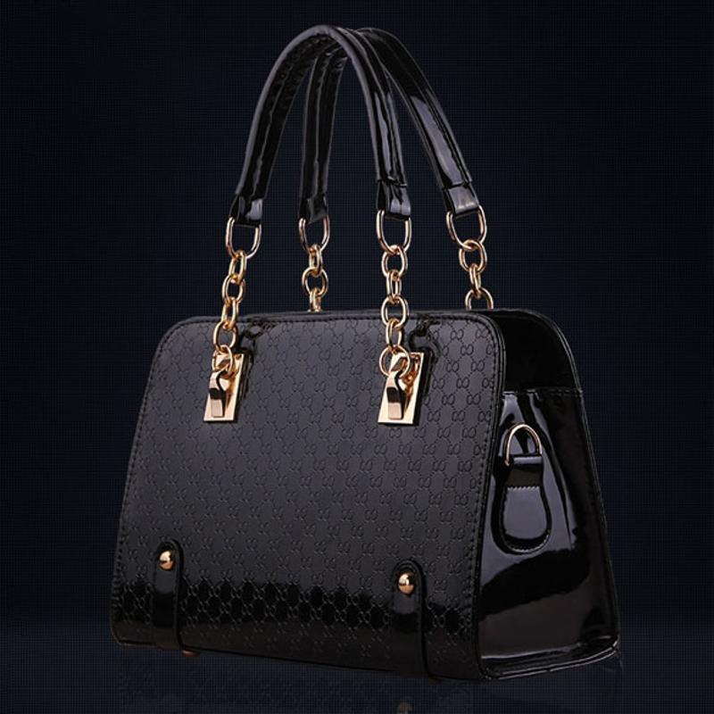 Fashion Women Handbag Shoulder Bags PU Leather Ladies Messenger Hobo Bag Female Black Shopping Tote Purse Bag