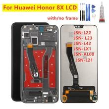 "6.5"" LCD For Huawei Honor 8X LCD Display Touch Screen Digitizer For Huawei 8X JSN L21 L22 L23 JSN L42 LX1 AL00 LCD Repair parts"