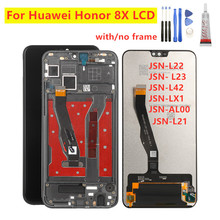 "6.5 ""LCD עבור Huawei Honor 8X LCD תצוגת מסך מגע Digitizer עבור Huawei 8X JSN L21 L22 L23 JSN L42 LX1 AL00 LCD תיקון חלקים"