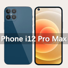 Telefon i12 Pro Max Smartphone 7.2 inç kilitsiz cep telefonu, telefone Smartphone ile çift Sim kartı 12GB RAM + 512GB ROM