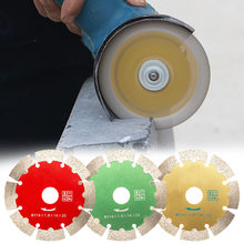 New Portable Diamond Hot Pressed Concrete Cutting Disc Diamond Slotted Blade Stone Tile Wall Slotting Cutting Saw Blades(China)