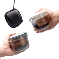 ceramic teapot gaiwan teacups chinese tea pot portable travel tea set  puer chinese kung fu travel tea set drinkware|Teaware Sets| |  -
