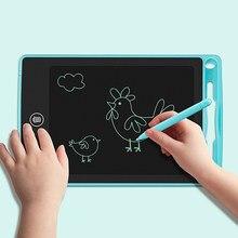 6.5 polegada lcd placa de escrita desenho tablet desenho eletrônico graffiti tela colorida desenho almofada memorando placas para crianças adulto
