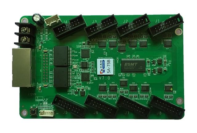 Карта приема Colorlight 5A 75B, светодиодный модуль дисплея, полноцветная карта приема BYO Hub75