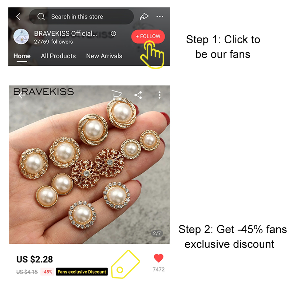 Купить с кэшбэком BRAVEKISS Pearl Earring Set Retro 6 Pairs Pearl Flower Stud Earrings Fashion Jewelry for Women Gifts Daily/Shopping New BPE1343