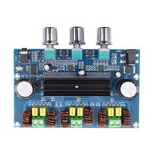 2*50W TPA3116เครื่องขยายเสียงClass D Bassซับวูฟเฟอร์เครื่องขยายเสียงบลูทูธ5.0 Digital Power Amplificador