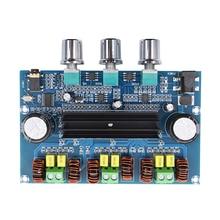 2*50W TPA3116 오디오 증폭기 보드 클래스 D 저음 서브 우퍼 증폭기 Bluetooth 5.0 디지털 전력 증폭기
