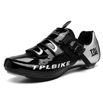 New MTB Sneakers Men Women Cycling Shoes Self-locking Road MTB Bike Sneaker Professional Damping Size 36-46 Sports Shoes 1