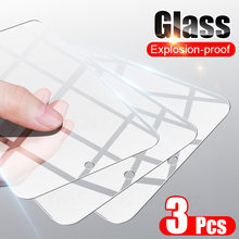 3 peças de Vidro Temperado Para Samsung Galaxy A51 A52 A71 A72 A21S A31 Protetor de Tela Para Samsung A50 A70 A10 A30 A40 M21 M51 Vidro