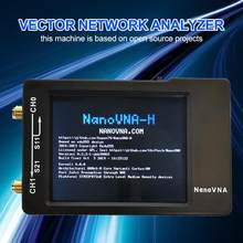2019 Nano VNA-H 50KHz-900MHz Vector Network MF HF VHF UHF Digital Antenna Analyzer Digital Shortwave Antenna Meter Tester(China)