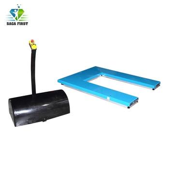 Full electric scissor lifting work platform  for sale with U shape